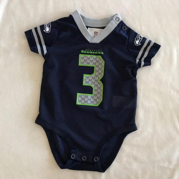 cheap for discount e4172 3fdba Authentic NFL Russell Wilson Seahawks baby jersey